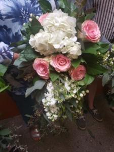 Bohemian wedding flowers