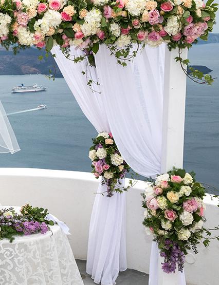 santorini florist paper flowers