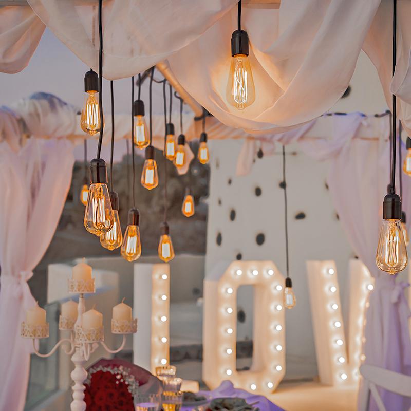 Santorini wedding Decoration Ideas